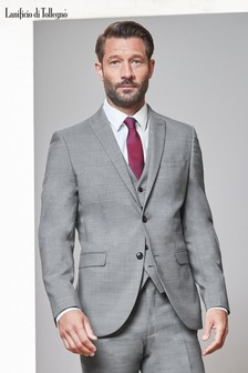 Signature Textured Stretch Suit