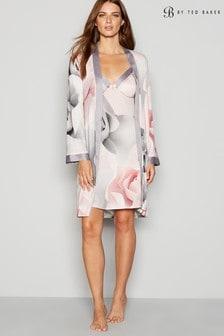 B by Ted Baker Grey Jersey Print Kimono