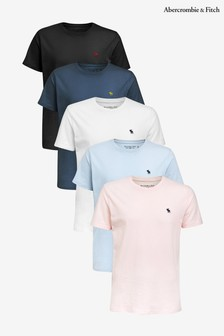 Abercrombie & Fitch T-Shirts Five Pack