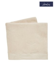 Joules Cream Botanical Bee Towel