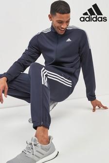 adidas Team Sports 3 Stripe Poly Tracksuit