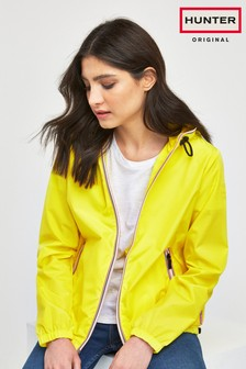 Hunter Women's Yellow Original Shell Jacket