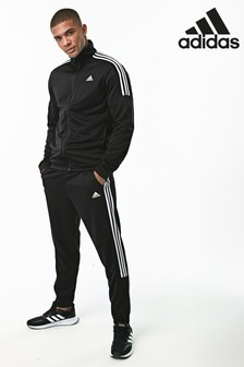 adidas Team Sports 3 Stripe Poly Tracksuit