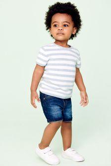 Stripe Knitted T-Shirt (3mths-7yrs)