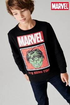 Marvel Sequin Crew (3-16yrs)