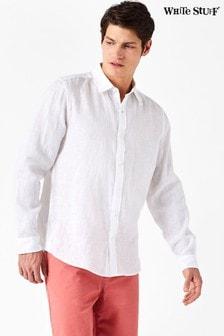 White Stuff White Lymington Linen Shirt
