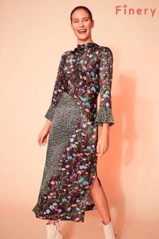 Finery London Multi Mia Print Column Dress