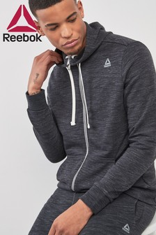 Reebok Marl Zip Through Hoody