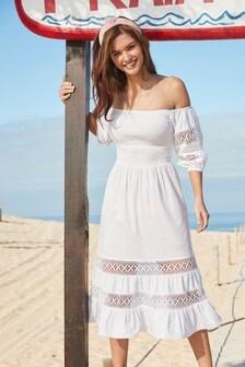 Lace Mix Dress