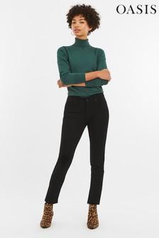 Oasis Black Cherry Slim Leg Jean
