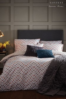 Content by Terence Conran Zig Zag Duvet Cover and Pillowcase Set