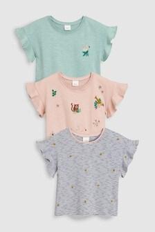 Animal T-Shirts Three Pack (3mths-7yrs)