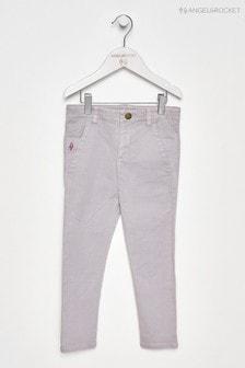 Angel & Rocket Grey Garment Dyed Trouser