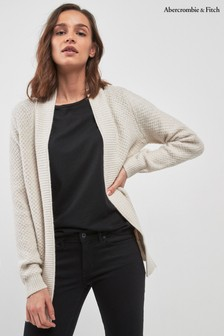 Abercrombie & Fitch Oat Cardigan
