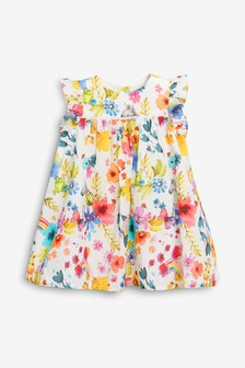 Floral Dress (0mths-2yrs)