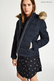 Jack Wills Navy Durley Down Jacket