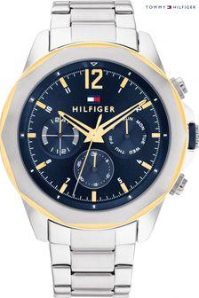 Whistles Black Mirco Floral Print Tie Back Jumpsuit