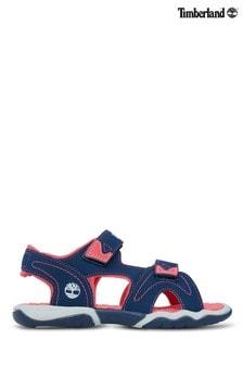 Timberland® Navy/Pink Adventure Seeker 2 Strap Sandal