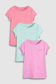 Short Sleeve T-Shirts Three Pack (3-16yrs)