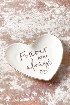 Forever And Always Trinket Dish