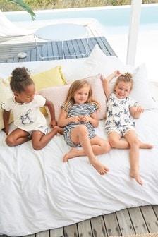 Bunny Short Pyjamas Three Pack (9mths-8yrs)