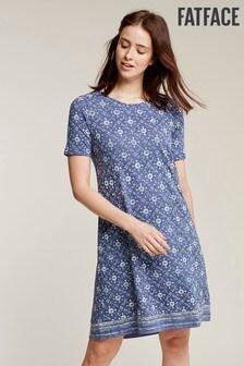 FatFace Simone Printed Dress