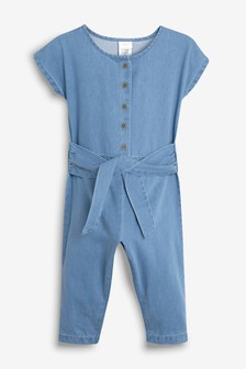 Tie Front Playsuit (3mths-7yrs)