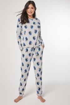 Strawberry Print Cotton Rich Pyjamas