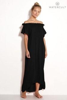 Watercult Black Off The Shoulder Dress