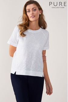 Pure Collection Easy Cotton T-Shirt
