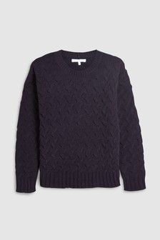Matt Chenille Sweater