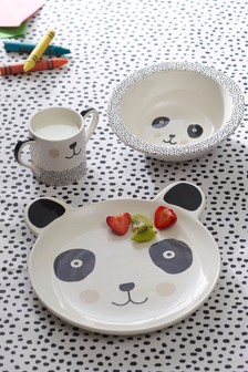 Children's Panda 3 Piece Dinner Set