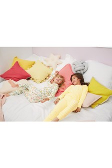 Floral Rib Snuggle Pyjamas Two Pack (3-16yrs)