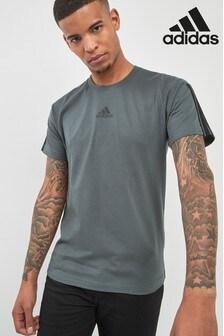 adidas Legend Ivy 3 Stripe T-Shirt