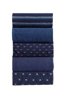 Formal Mix Pattern Socks Ten Pack