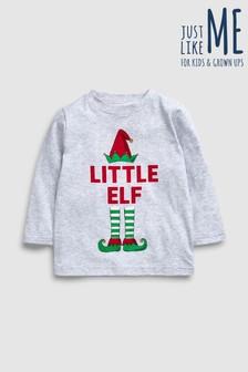 Younger Kids Little Elf T-Shirt (3mths-6yrs)