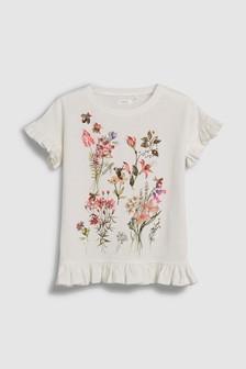 Short Sleeve Floral T-Shirt (3-16yrs)