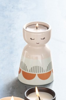 Face Tea Light Holder