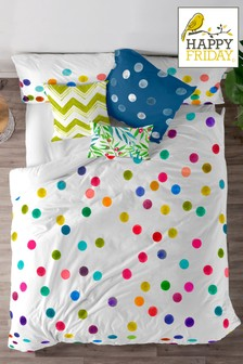 Happy Friday Exclusive To Next Confetti Duvet Cover and Pillowcase Set