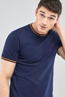 Pique Tipped T-Shirt