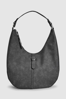 Casual Buckle Hobo Bag