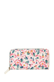 Cath Kidston® Climbing Blossom Continental Zip Wallet