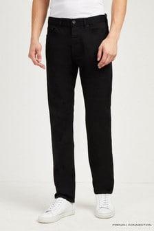 French Connection Black Denim Slim Jean