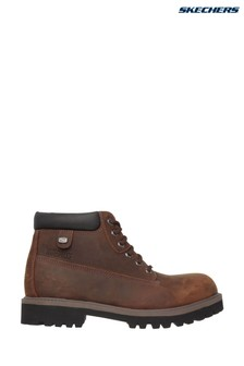 Skechers® Brown Sergeants Verdict Boot