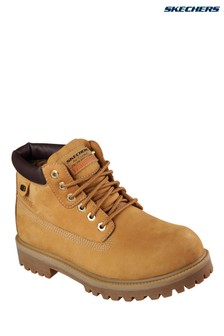 Skechers® Tan Sergeants Verdict Boot