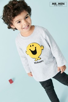 Mr Happy T-Shirt (3mths-7yrs)