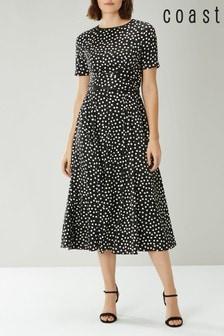 Coast Mono Sarah Spot Dress