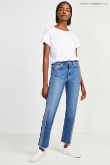 French Connection Blue Studded Jean