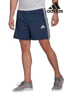 adidas Navy D2M  3S Shorts