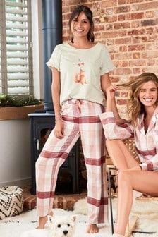 Fox Check Pyjamas